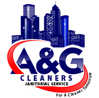 graphic image design A&G Cleaners Janitorial Service custom logo designing