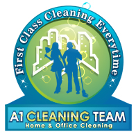 logo design graphic image A1 Cleaning Team