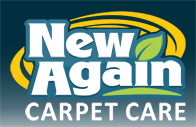 graphic image New Again Carpet Care company logo graphic designing