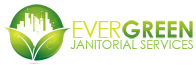 Company logos- graphic image Evergreen Janitorial Services logo design