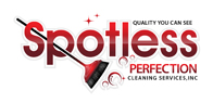 graphic logo design image Spotless Perfection Cleaning Services, Inc